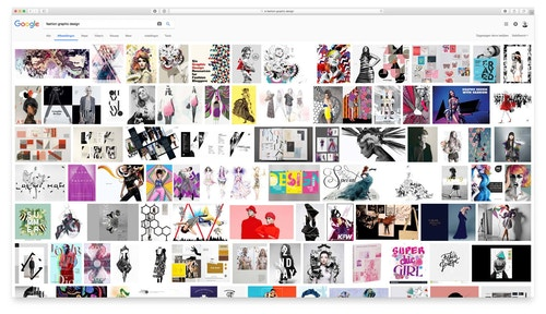 Google Images search results for Fashion Graphic Design