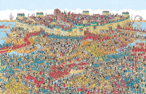 Where is Waldo drawing