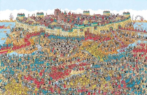 Where is Waldo drawing