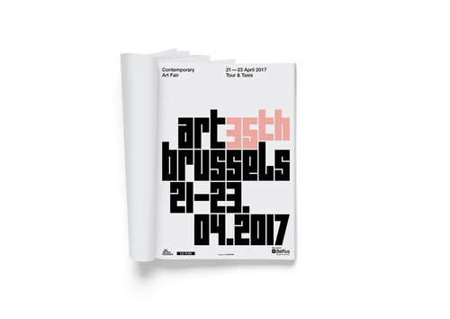 First page of Art Brussels book