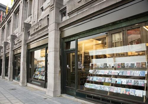 Window shop of Bozar Book Store