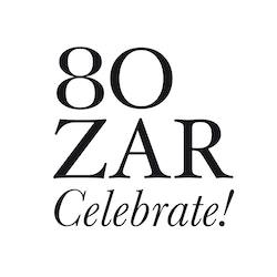 Logo celebrating the 80 years of Bozar