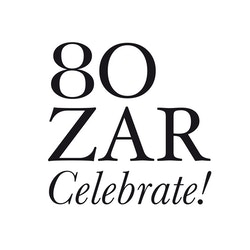 Logo celebrating the 80 years of Bozar