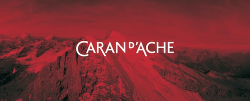 Other poster designed for Caran d'Ache