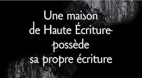 Copywriting for Caran D'ache Maison