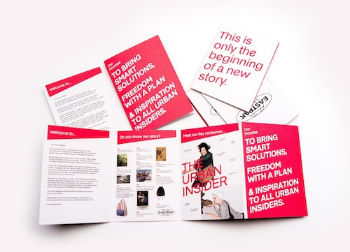 Eastpak set of booklets