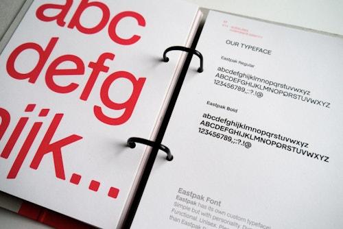 Eastpak opened brandbook