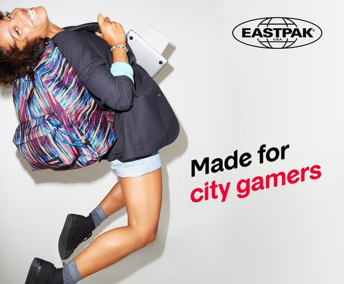 Eastpak City of Gamers poster