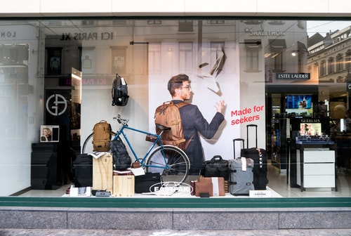 Eastpak Branded Store Window