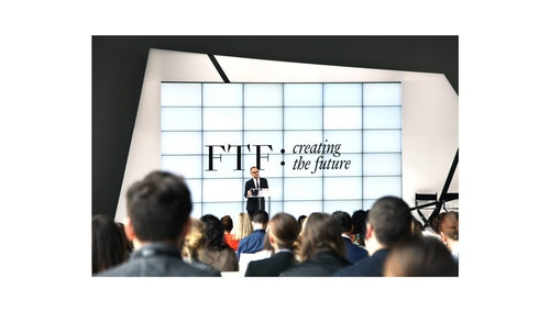A keynote presentation at Ftf