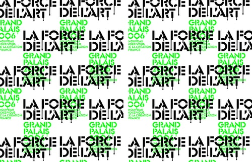 Mosaic of the visual designed for Grand Palais communication campaign