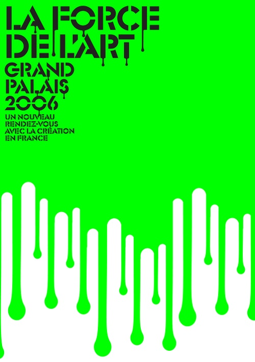 A visual designed for Grand Palais communication campaign