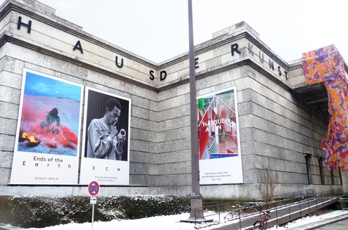 Application of Kakemono for Haus Der Kunst