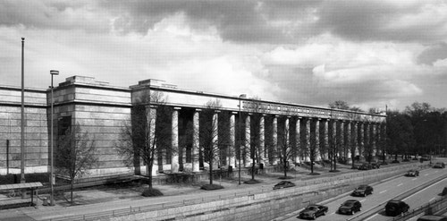 Building of Haus Der Kunst in Germany