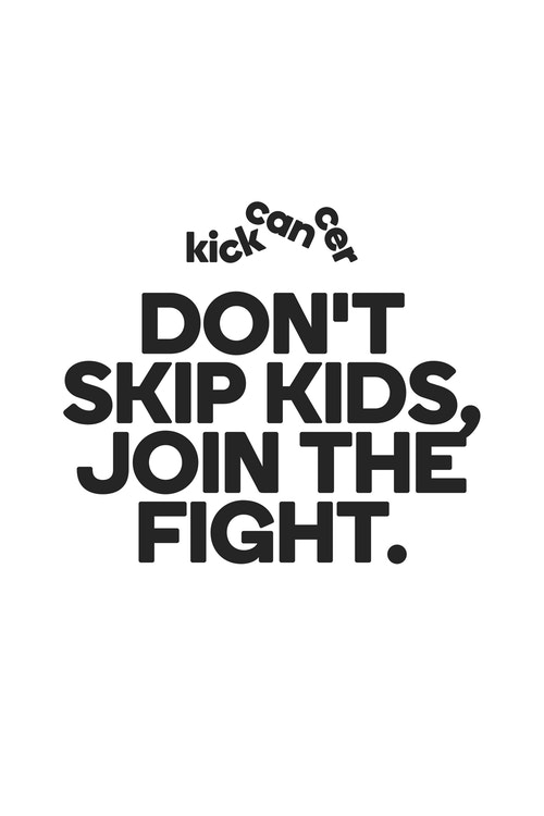 Copywriting for the Kickcancer campaign on joining the fight against cancer