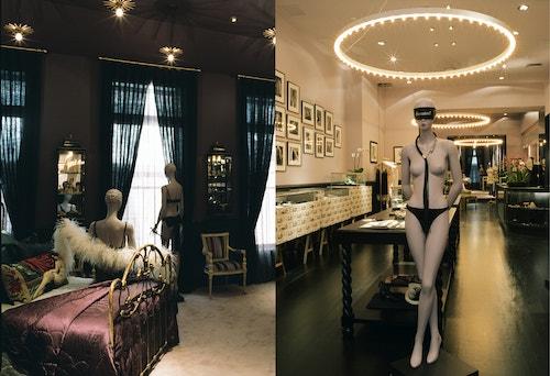 Photo collage of the store of Kiki De Montparnasse