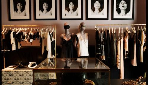 The inside of the store of Kiki de Monparnasse