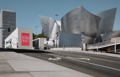 The building of Los Angeles Master Chorale