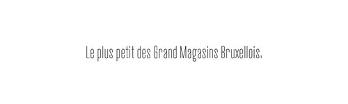 """A quote saying Maison De Greef is """"the smallest of the greatest shops in Brussels"""""""