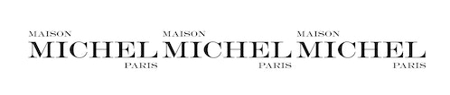 New logotype of Maison Michel Paris