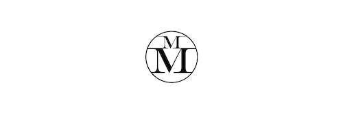 Maison Michel Monogram composed of two superposed M in a circle