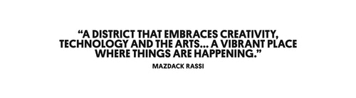 Quote from Mazdack Rassi on the dynamism of the Meatpacking District