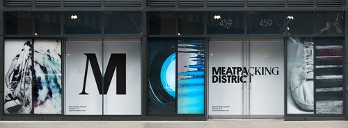 Facade of the Meatpacking District Association building