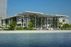 View of the new building of the Miami Art Museum