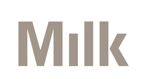 The new logo designed for Milk Studios