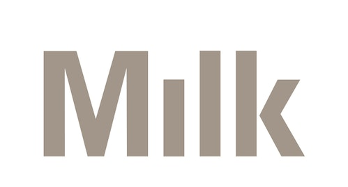 The new logo designed for Milk Studios