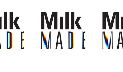 """The """"Milk Made"""" logo"""