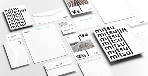 Set of printed materials designed or Mitsulift