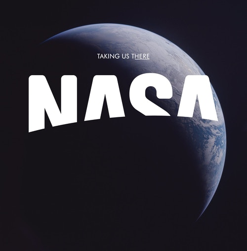 The third version of the logo designed for Nasa