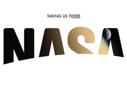 A fourth version of the logotype designed for Nasa
