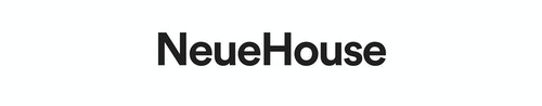 The typographic logo designed for Neuehouse