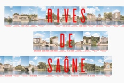 Banner visual designed for Rives de Saône