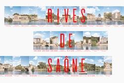 Banner visual designed for Rives de Saône