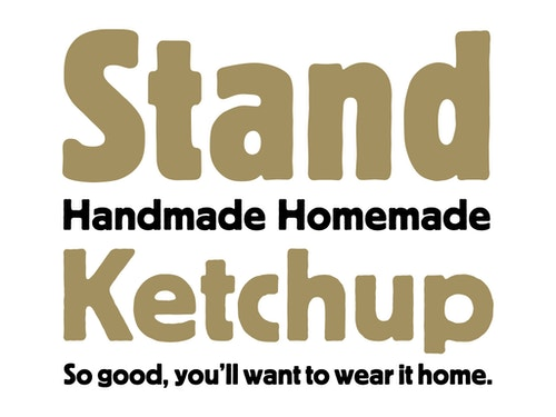 Copywriting for Stand on homemade ketchup