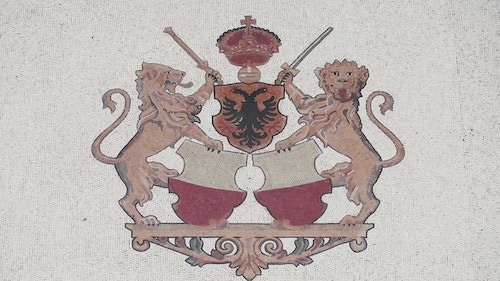 The official blason of the City of Lausanne