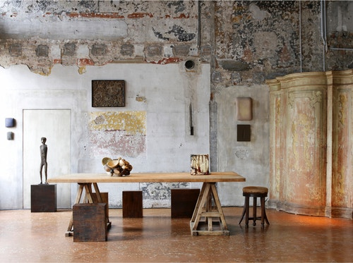 Works spanning centuries and civilisations. Installation view of Artempo: Where Time Becomes Art (2007)
